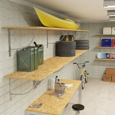 Tondino garage shelf brackets