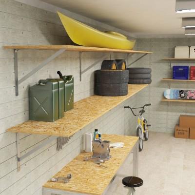 Ursus garage shelf brackets