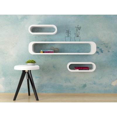 Cubi da parete ovali