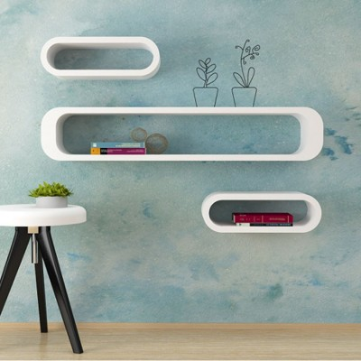 Etagere cube ovale
