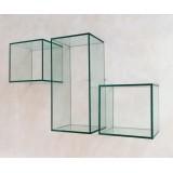Cubi da parete in vetro