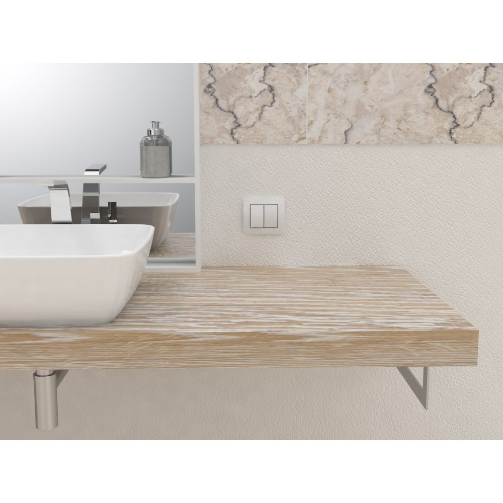 meuble salle de bain tablette salle de bain bois massif. Black Bedroom Furniture Sets. Home Design Ideas