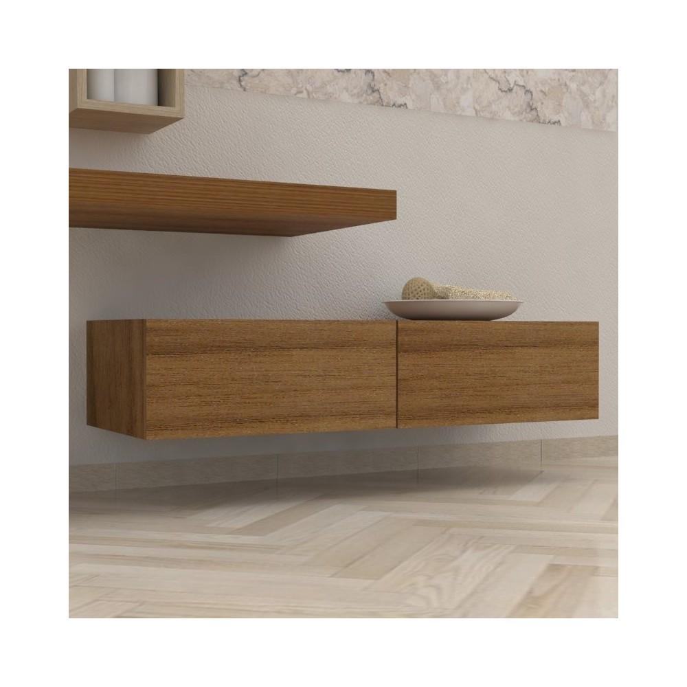 Mobili bagno cassettiera cassettone massello - Arredo bagno in legno ...