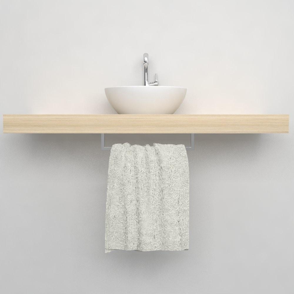Porta asciugamani arredo bagno accessori bagno for Mensola lavabo