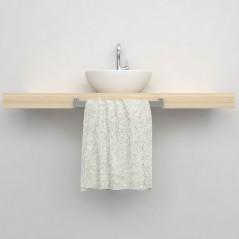 Porta asciugamani 003 mensola lavabo