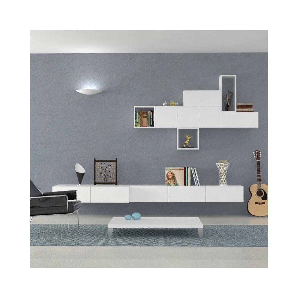 Parete attrezzata parete attrezzata althea for Immagini parete attrezzata