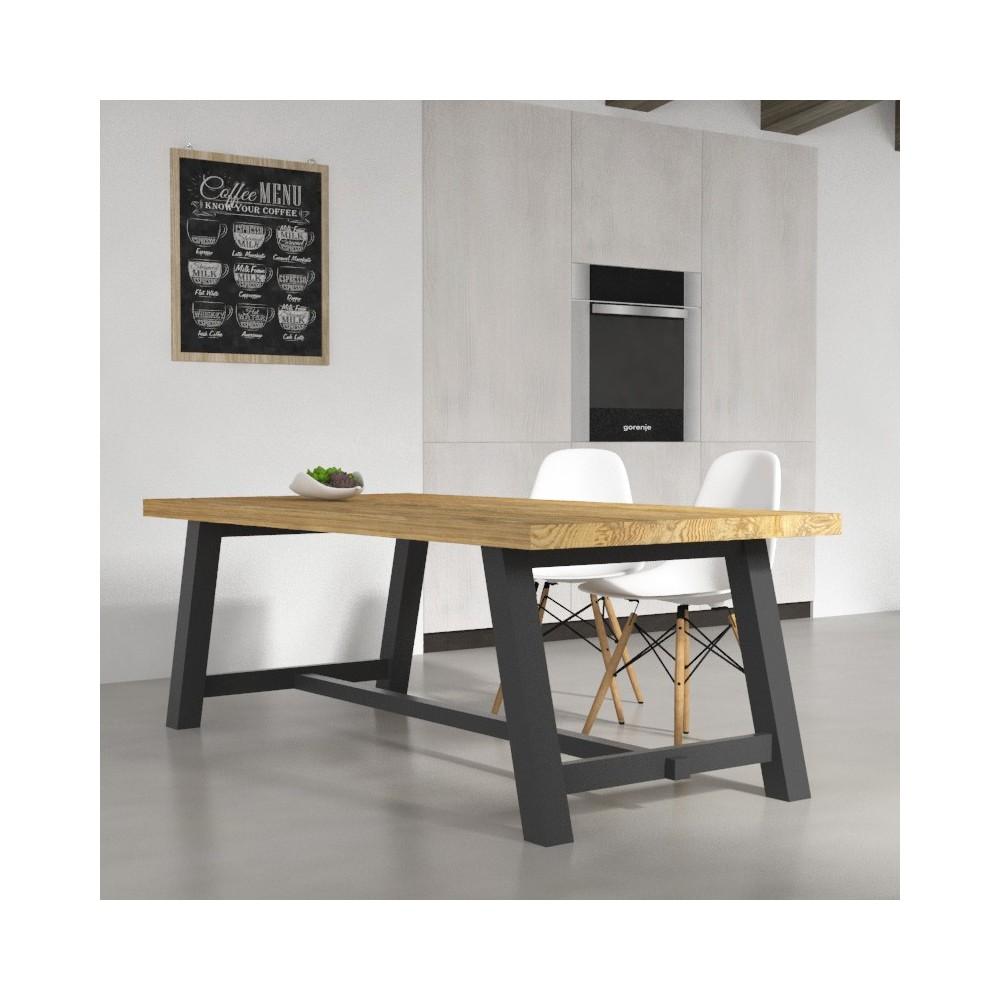 tavoli da cucina tavolo clayton in legno massello