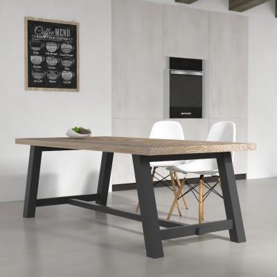 Tavolo da cucina Clayton in legno massello