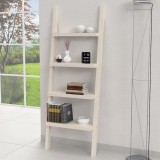 XL wooden ladder shelves