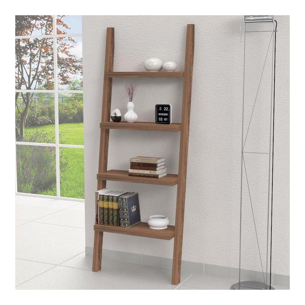 Mensole in legno mensola scaletta xl for Porta asciugamani ikea