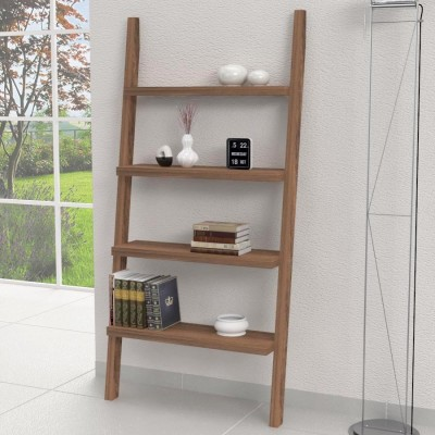 XL wooden ladder shelves