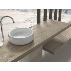 Wash basin shelf