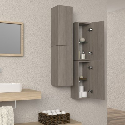 Column Wall Shelf for Bathroom Furniture