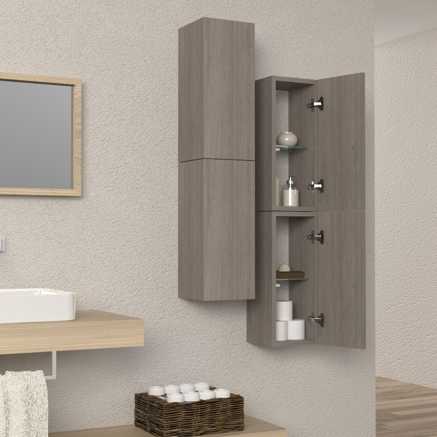 Beautiful mobile colonna bagno ideas for Cassettone bagno
