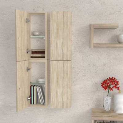 Column Wall Shelf for Living room Furniture