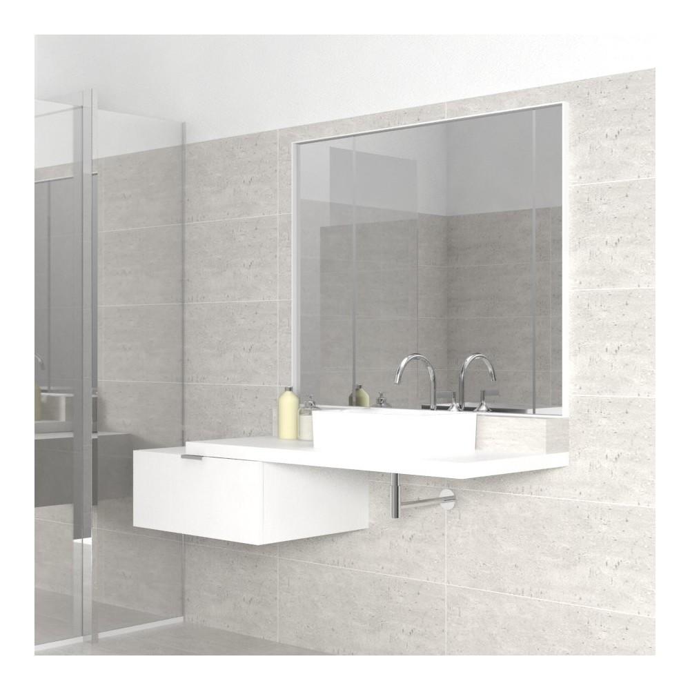 Mobili bagno mensola per lavabo spessore 4 cm - Mensola bagno appoggio lavabo ...