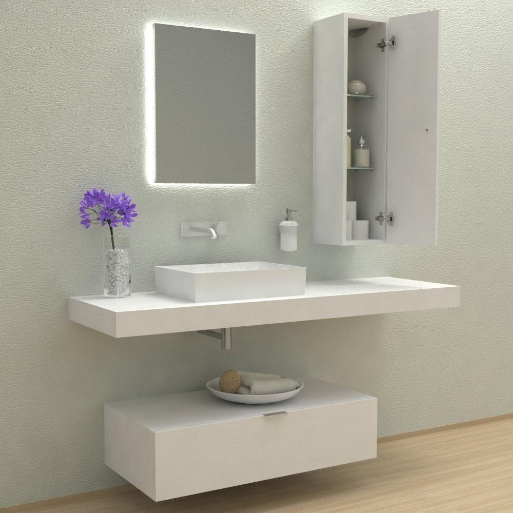 Mobili bagno arredo bagno espiral mobile completo for Mobile bagno minimal