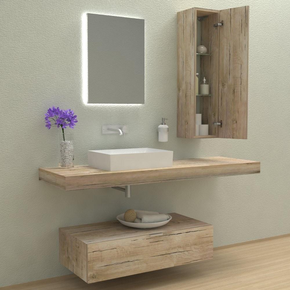 Mobili bagno arredo bagno espiral mobile completo for Arredo bagno mensole