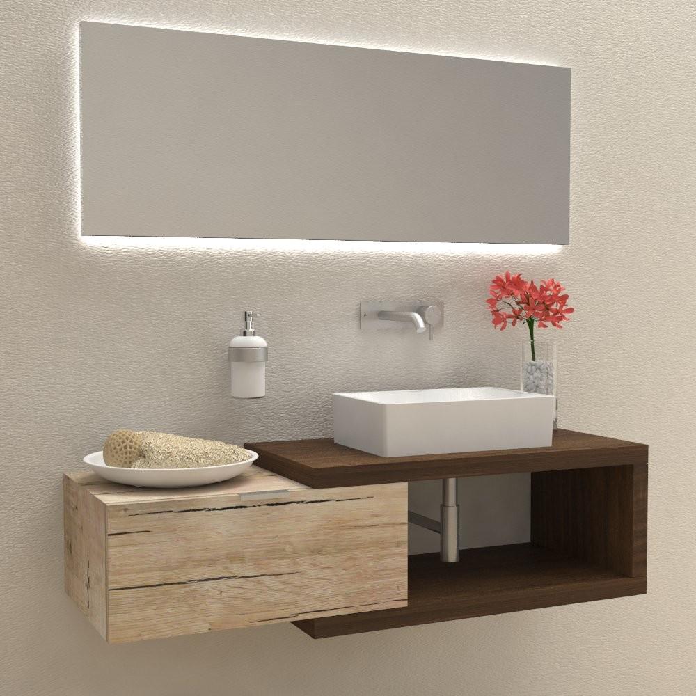 Mobili bagno con piedini simple mobili per bagno da cm - Mobili bagno con piedini ...