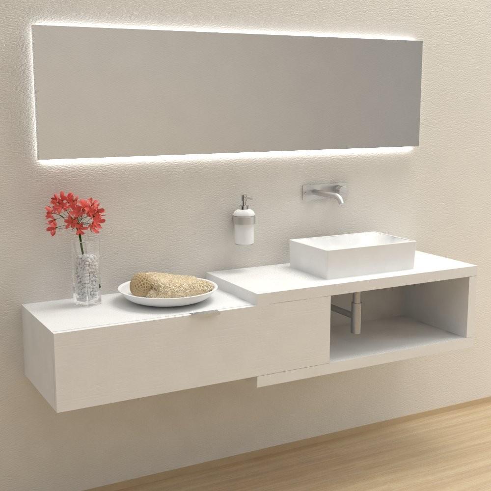 Mobili bagno arredo bagno arena 100 mobile completo for Mobili da arredo bagno