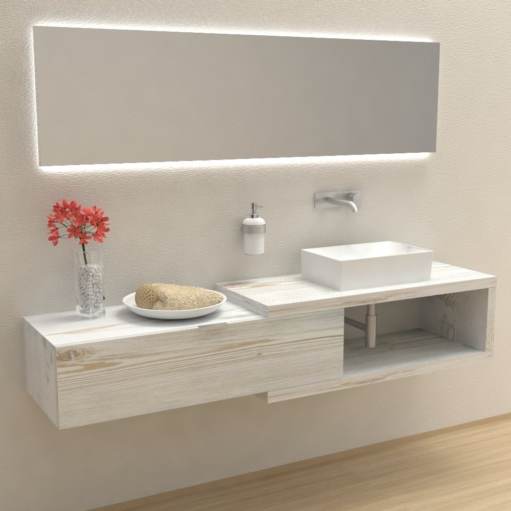 Arena 100 - Complete bathroom furniture
