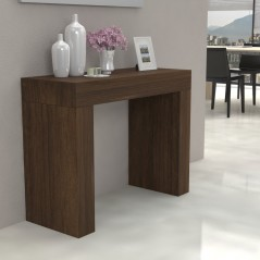 Fixed console Kilika in laminated wood folding