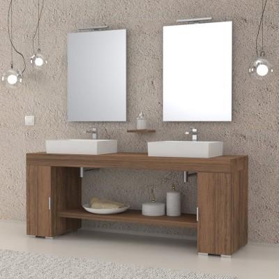 Sol - Meuble salle de bains complet