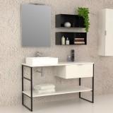 Iron - Complete bathroom furniture