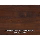 Solid wooden wash basin shelf - irregular edge