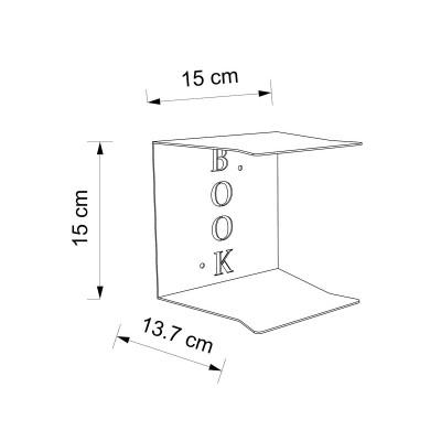 Etagere livre invisible Book