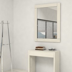 Mirrors with wooden frame