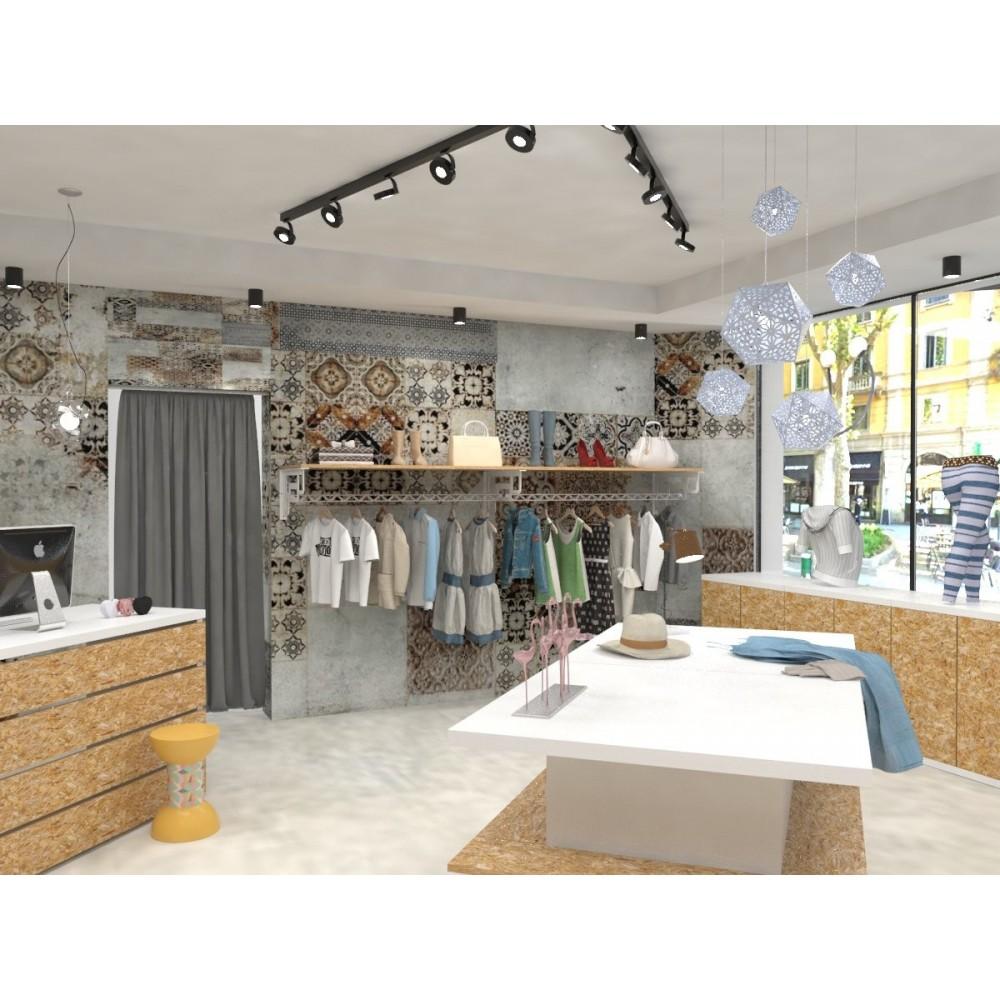 Arredamento negozi 50 mq arredo completo spazi commerciali for Negozi arredamento ancona