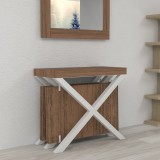 Extensible console Cross with extensions-rack