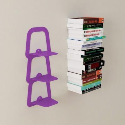 Mensole per libri invisibili 3 staffe