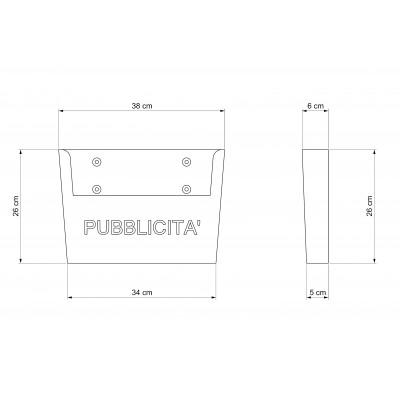 Cassetta postale PP 20