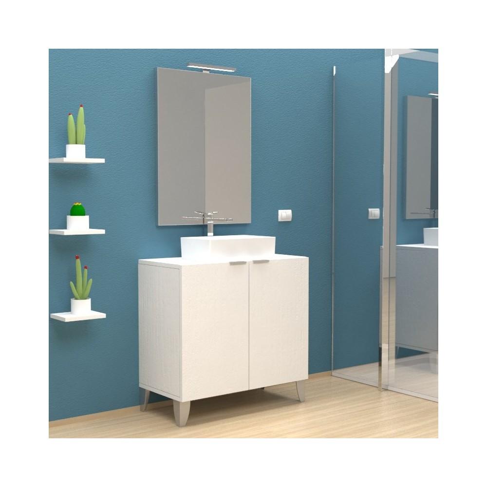meubles de salle francis avec pieds mobile salle de bain. Black Bedroom Furniture Sets. Home Design Ideas