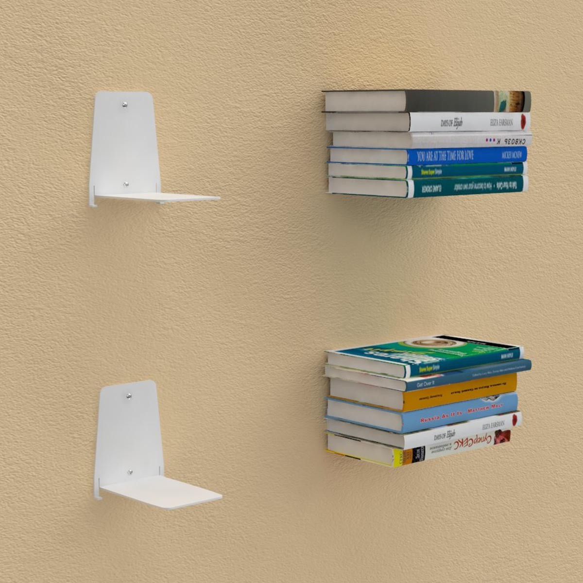 Shelves For Books bookshelves - invisible shelves