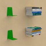 Mensole per libri invisibili L