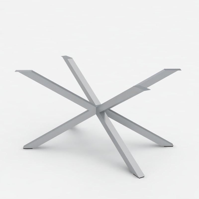 Gambe tavolo - Basamento in acciaio Hawaii