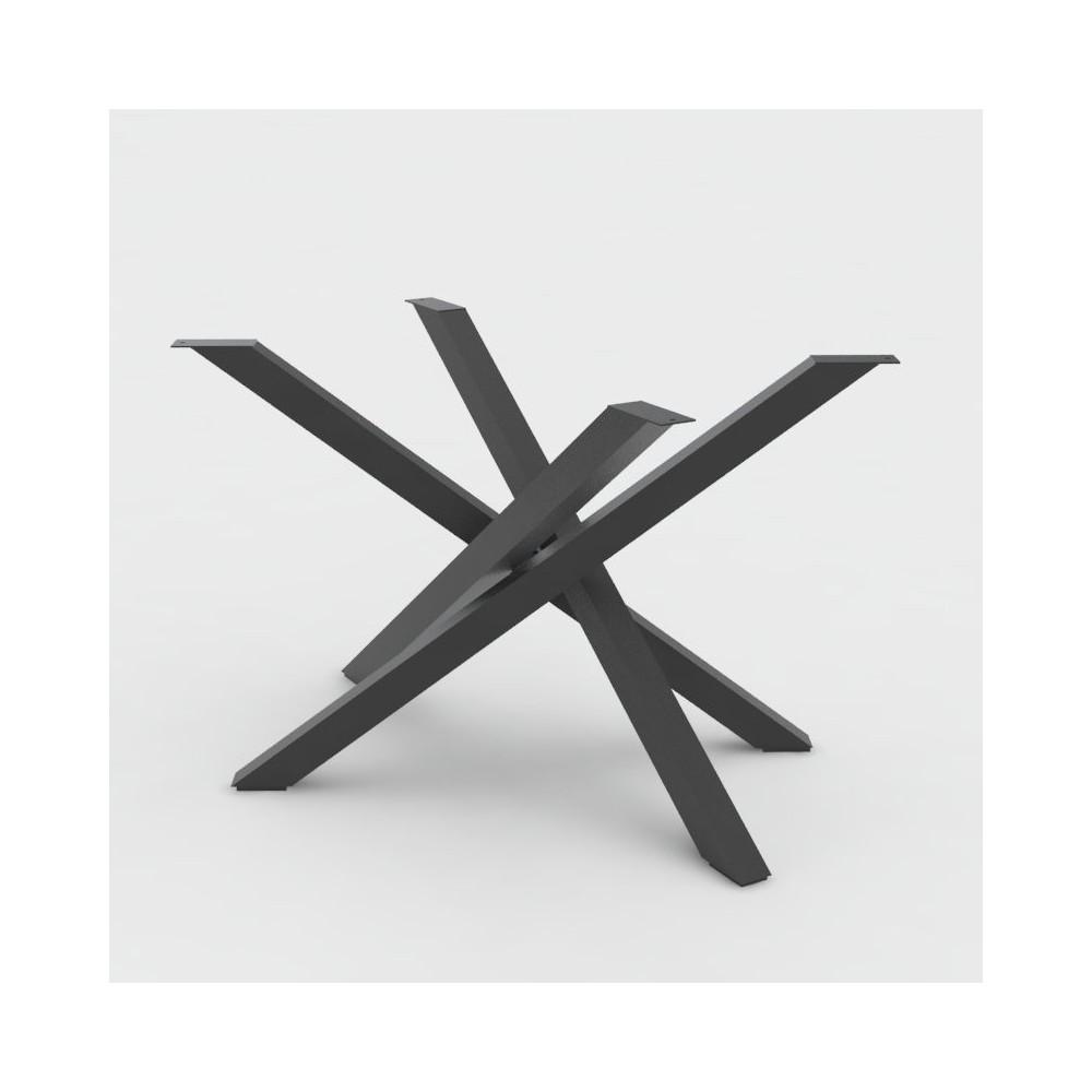 Gambe Allungabili Per Tavoli.Gambe Tavolo Basamento In Acciaio Polinesia