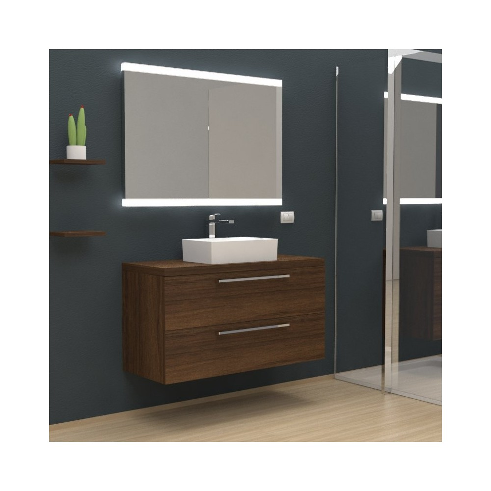 Mobili bagno arredo bagno kratos sospeso mobile completo - Mobile bagno completo ...