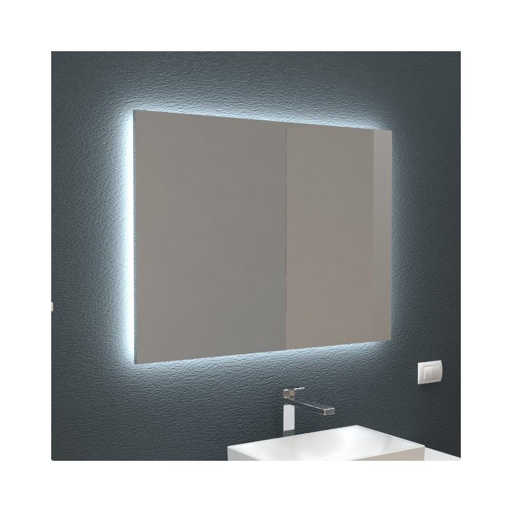Incroyable Miroir rétro éclairé pour salle de bain et maison DL-52