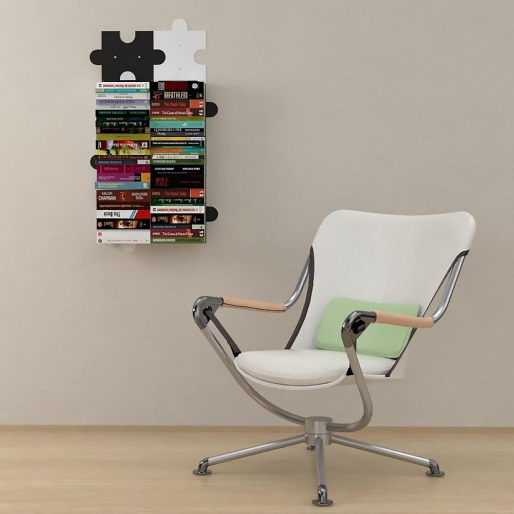mensole per libri invisibili puzzle - Invisible Bookshelves