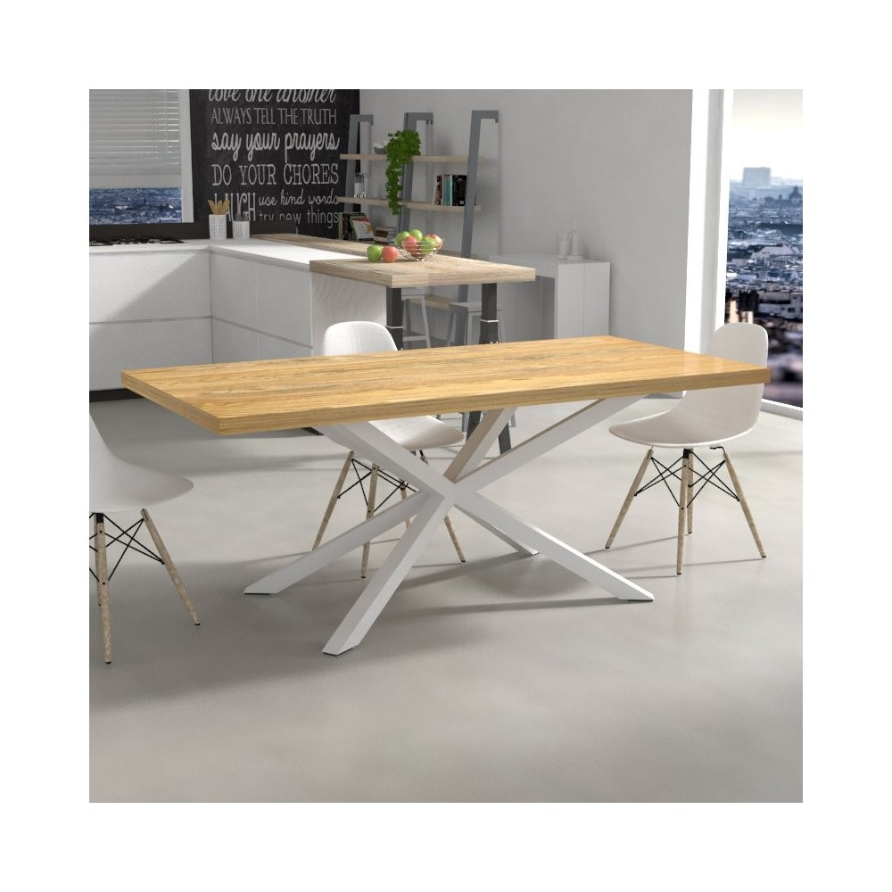 Hawaii Kitchen Table in solid wood