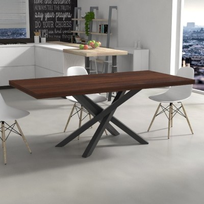 Polinesia Kitchen Table in solid wood