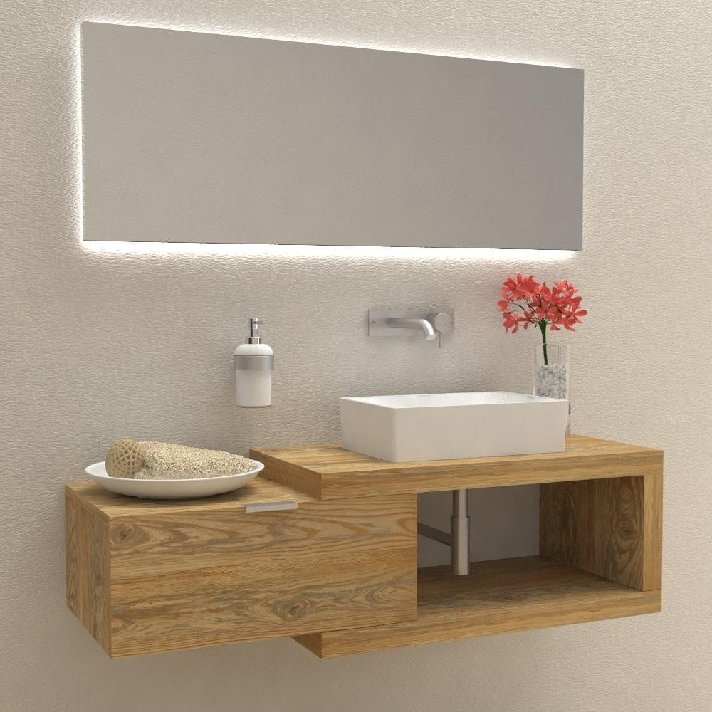 mobili e arredo bagno in legno massello arena 60 mobile