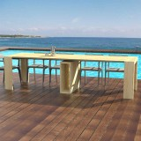 Outdoor Extensible console Marte with extensions-rack