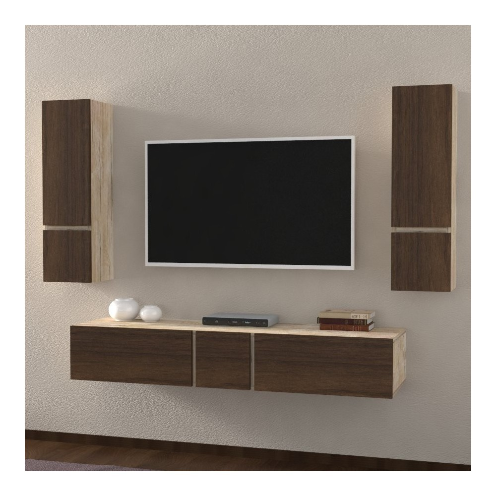 meuble de rangement salon vesuvio meuble salon. Black Bedroom Furniture Sets. Home Design Ideas