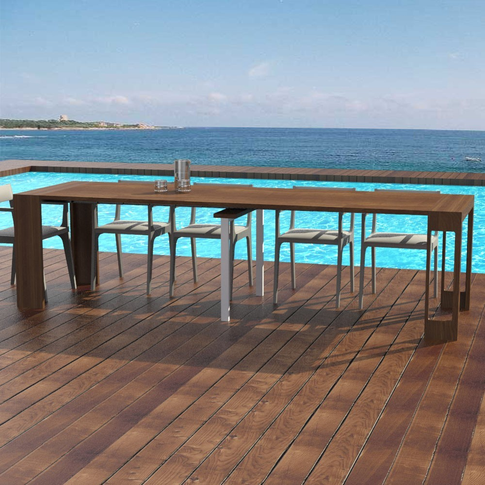 Tavolo per esterno - Consolle allungabile - Tavolo Mercurio
