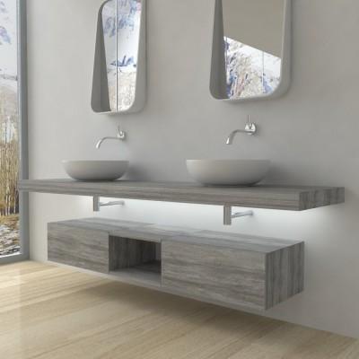 Domus - Meuble salle de bains complet